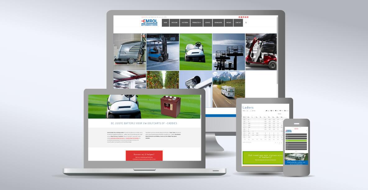 Nieuwe Emrol Website