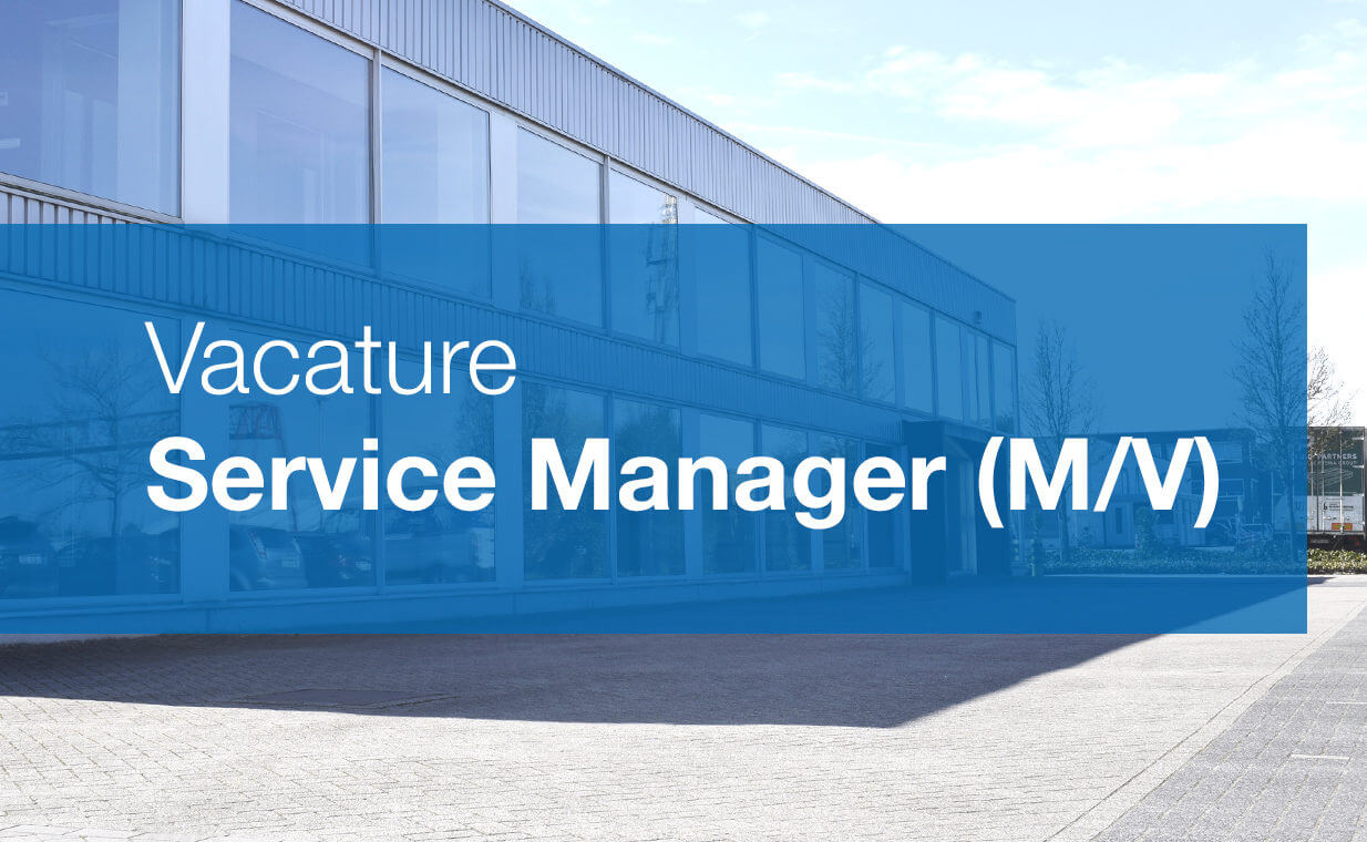 Vacature Service Manager